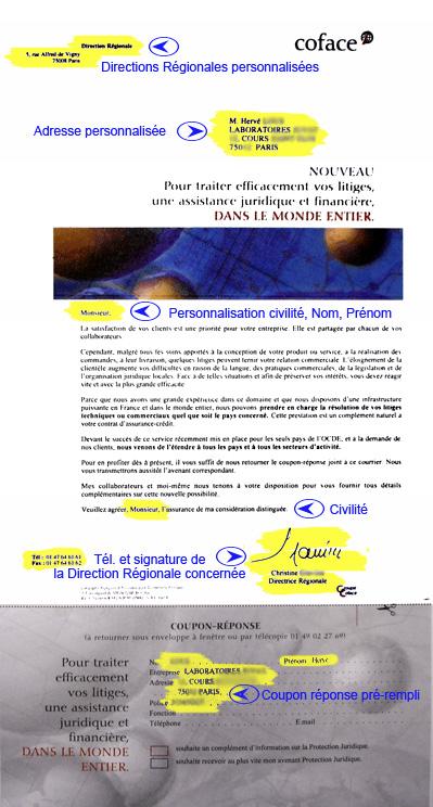 Document personnalisé - un service de Réflexiel